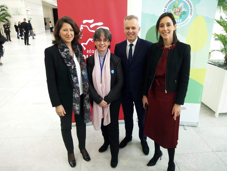 Notre responsable nationale des associations de patients, Patricia Nowak a rencontré, récemment, trois ministres en déplacement à Bordeaux.