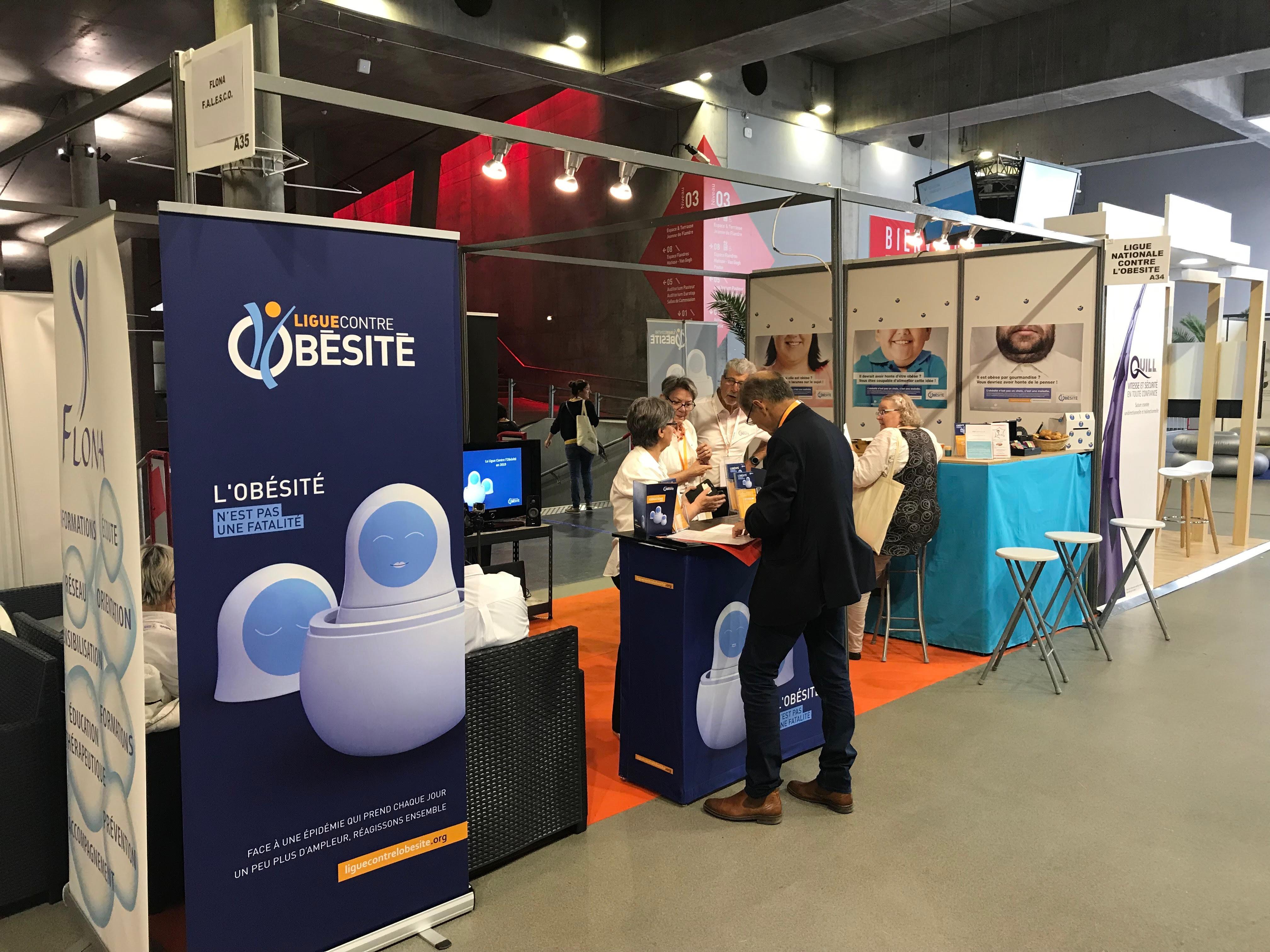 Depuis ce jeudi 23 mai, la Ligue contre l'obésité (LCO) participe au congrès annuel de la Société française et francophone de chirurgie de l'obésité et des maladies métaboliques (Soffco) qui se déroule à Lille jusqu'au samedi 25 mai.