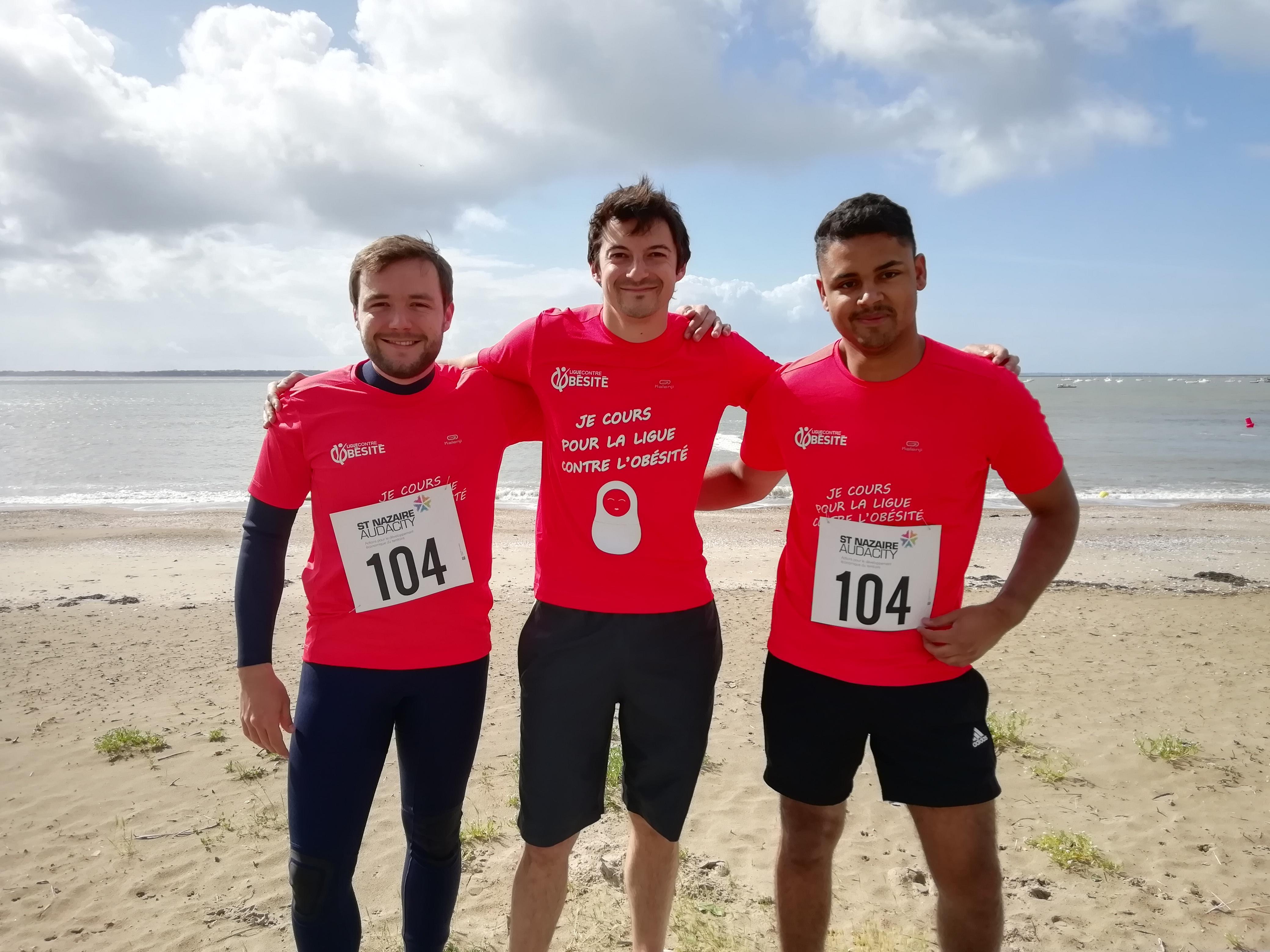 Le 8 juin dernier, à Saint-Nazaire (Loire-Atlantique), dans le cadre du Best Triathlon qui s'est déroulée tout au long du deuxième week-end de juin, quatre équipes composées de trois salariés de l'entreprise MAN ES ont participé au Quadrathlon Audacity.