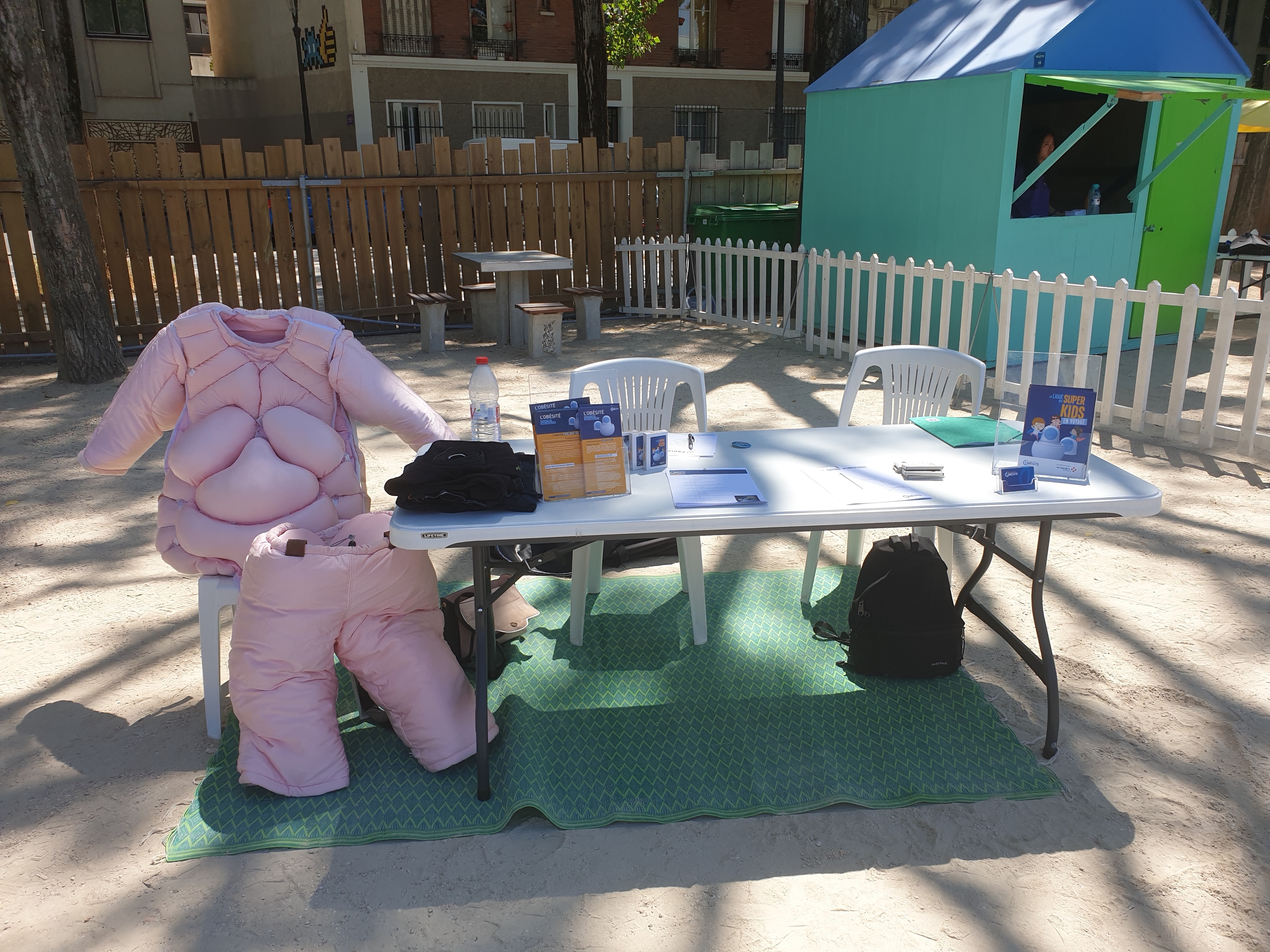 En juillet dernier, la Ligue contre l'obésité (LCO) a participé à Paris Plages, opération estivale organisée par la mairie de Paris sur les bords de Seine.